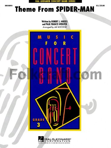 Theme from Spider Man - Concert Band - SET