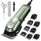 Dog Grooming Clippers, OMORC Cordless Quiet Pet Hair Clippers Trimmer...