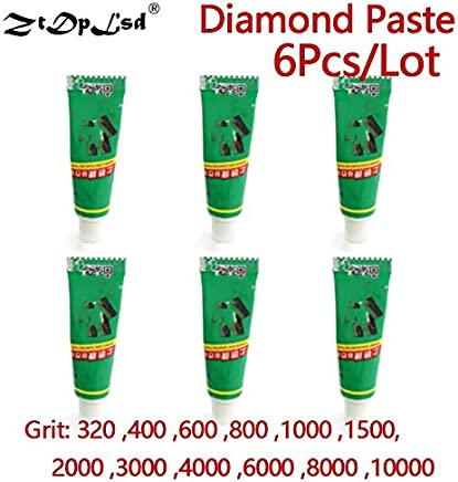 Tools 12pcs W0.5~w40 Diamond Water-based Abrasive Paste Beeswax Amber Jade Jewelry Special Grinding Mirror Polish