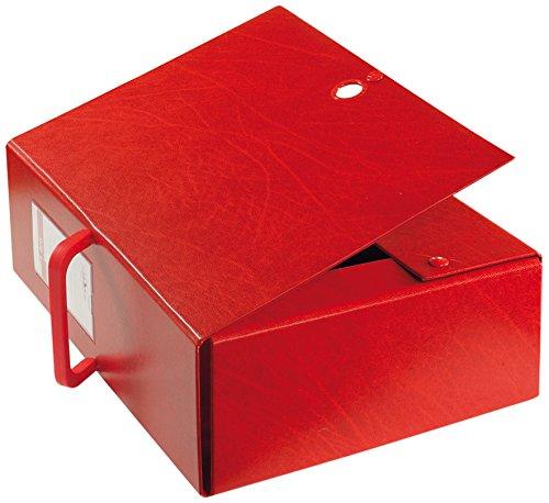 Sei Rota 68002012 Cartelle Porta Documenti e Progetti, Dorso 20 cm, Rosso
