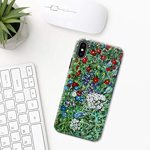 Gustav Klimt iPhone Hülle XR 11 X XS MAX Pro 8 7 Plus 6 6s 5 5s SE 2020 10 Plastik Silikon Apple iPhone phone case Malerei Farbe Maler drucken Kunst