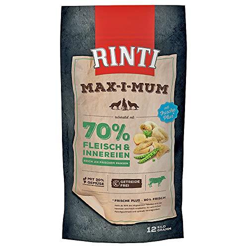 Rinti - Max-i-Mum Pansen - 2 x 12 kg - Trockenfutter für Hunde - Hundefutter