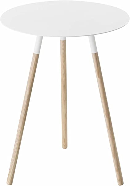Yamazaki Home Plain Side Table White Medium