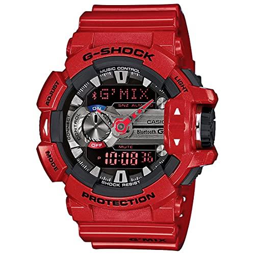 Casio G-Shock Analog-Digital Red Dial Men's Watch-GBA-400-4ADR (G559)