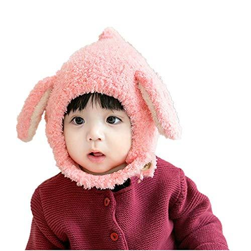TSHG Baby Winter Fleece Hoed, Kinder Sjaals winter Plus Fluwelen Winddichte Cap, Geschikt voor Kinderen Van 3 tot 36 Maanden