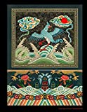 Composition Notebook: Wide Ruled: For Home, Office, Work, Back To School, College, University: Albert Racinet Chinese Pattern Vintage Cover