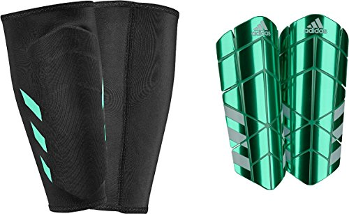 adidas Ghost Pro Shin Guards, Light Green, Medium