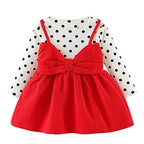 LZH Baby Mädchen Kleid 0-24 Monate Herbst Neugeborenes Baby Mädchen Kleidung Niedlich Kinder Langarm Kleid