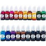 19 colores epoxi y resina UV Pigmento Universal Resina Tinte Súper Concentrado Pigmento epoxi Resina Colorante Artesanía