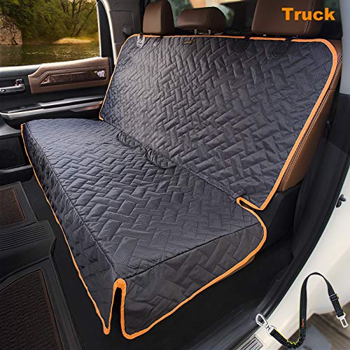 iBuddy Bench Car Seat Cover for Car/SUV/Truck, Waterproof Back Seat Cover for...