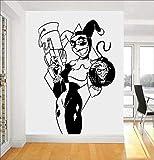 wZUN Hero Comic Etiqueta de la Pared de Vinilo decoración del hogar diseño Mural habitación Dormitorio Dibujos Animados calcomanía extraíble 42X63cm