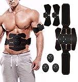 Elettrostimolatore per Addominali Elettrostimolatore Muscolare,Addominale Tonificante Cintura ABS, EMS Stimolatore Muscolare Addome/Braccio/Gambe/Waist/Glutei-Uomo/Donna