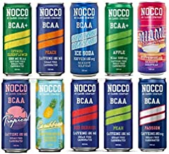 NOCCO No Carbs Company Mixed Case 24x 330ml cans ALL FLAVOURS Estimated Price : £ 38,99
