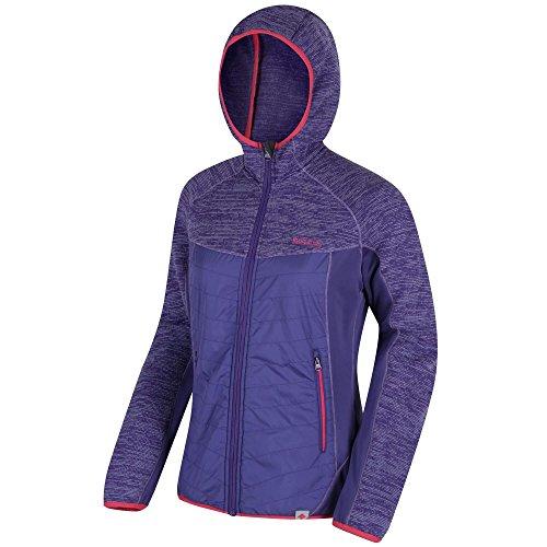 Regatta Homme Nevado II Veste Homme à Capuche Bleu Sports Outdoors Full Zip Chaud