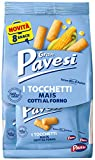 Gran Pavesi Snack Tocchetti, Snack al Mais Cotti al Forno, Senza Olio di Palma, 8 Pacchetti, 256 g