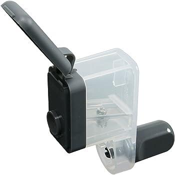 カール事務器 鉛筆削り くるくる カールくん 日本製 グレー CPS-80-D