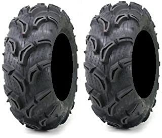 Pair of Maxxis Zilla ATV Mud Tires 25x11-9 (2)
