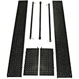 Black Widow BW-1000A-SIDE Side Panel Extension Kit for BW-1000A Series Motorcycle Lift Table