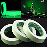 Electronica Night Glow Tape | Removable, Waterproof, Photoluminescent Glow in the Dark | Self...