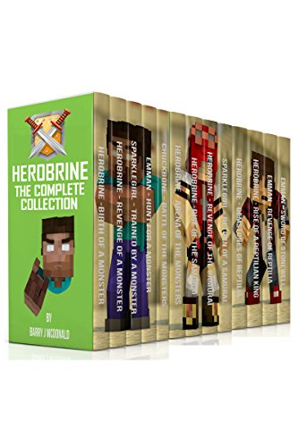 Herobrine - The Complete Collection (17 Books In 1 Boxset)