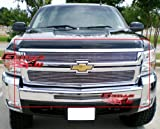 APS Compatible with 2007-2010 Chevy Silverado 2500HD 3500HD Billet Grille Combo C67804A