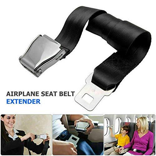 Estensione cintura di sicurezza, cintura di sicurezza regolabile, prolunga per cintura di sicurezza aereo, estensore Airline Buckle Aircraft Safe