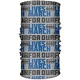 KDU Fashion 12-In 1 Sweatbands,März Für Unser Leben Schal Stirnband, Polyester Quick Dry Sweatband Für Gym Mountain Running