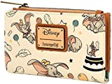 Loungefly Disney Dumbo Faux Leather Flap Wallet