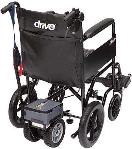 Drive Devilbiss Lightweight Wheelchair Powerstroll - Dual Wheel Power Pack with Removable Battery Pack and Trigger