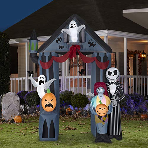 Gemmy Halloween 9' Nightmare Before Christmas Archway