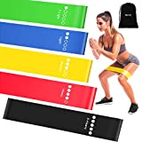 Resistance Exercise Bands for Booty Bands with Instruction Guide and Carry Bag