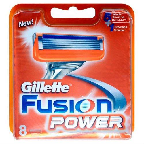 Gillette Fusion Power Razor Blades 8 per pak