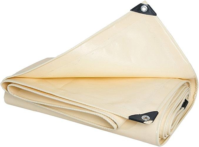 AJZGF en Plein air Bache, extérieure épaisse imperméable à l'eau bache extérieure crème Solaire Tente Tente Tissu Couteau grattage Usure d'isolation