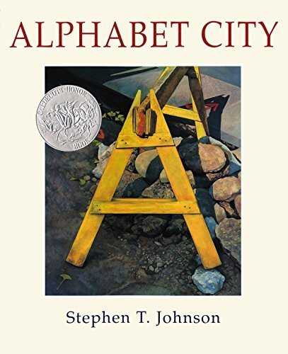 Alphabet City (Caldecott Honor Book) by Stephen T. Johnson (1995) Hardcover