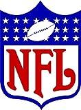 - NFL Logo NFL Football Sport Decal 10'' X 14''