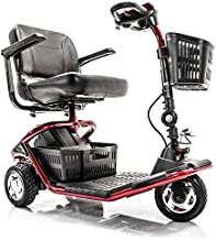LiteRider 3-Wheel Folding Travel Mobility Scooter GL111+ Service Plan (RED)