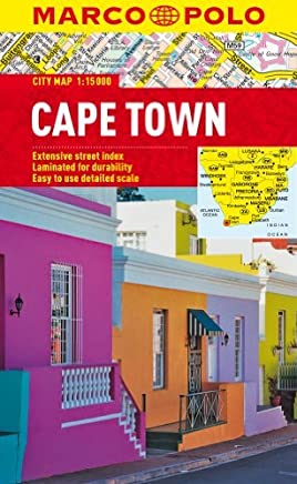 Cape Town Marco Polo City Map (Marco Polo City Maps) by Marco Polo Travel Publishing(2013-01-01)