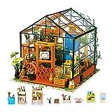 【ゴールデンウィーク 暇つぶし おもちゃ】Rolife DIYドールハウス インテリア カラフル おもちゃ 暇つぶしキット ミニチュアハウス 装飾品 子供のプレゼント 組立の楽しみ 実践力を伸ばす 綺麗なプレゼント (花屋)