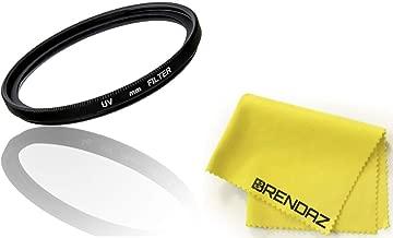 55mm UV Protection Clear Filter Works with Canon Nikon Sony Tokina DSLR Lenses (55mm) and Nikon D3400 D5600 w/AF-P DX NIKKOR 18-55mm f/3.5-5.6G VR,