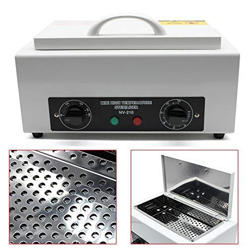 Edelstahl Heißluftsterilisator Desinfektion 220V Kosmetik,für Fußpflege,Desinfektion von Nagelwerkzeugen,bis 200 ° C