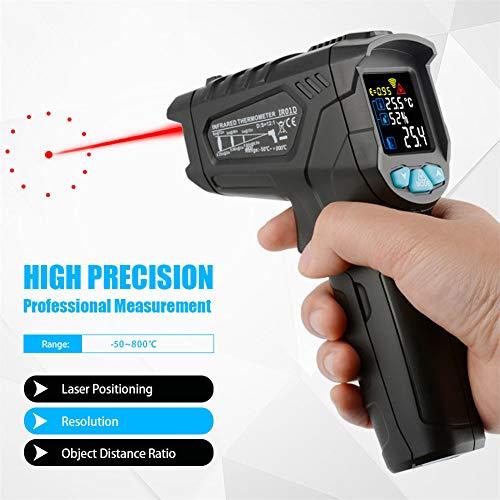 AOLASH Frente Digital Alta Precisión Digital Termómetro Infrarrojo Cuerpo Bebé Láser Arma Termómetro Sin Contacto Monitores Temperatura Dispositivos con...