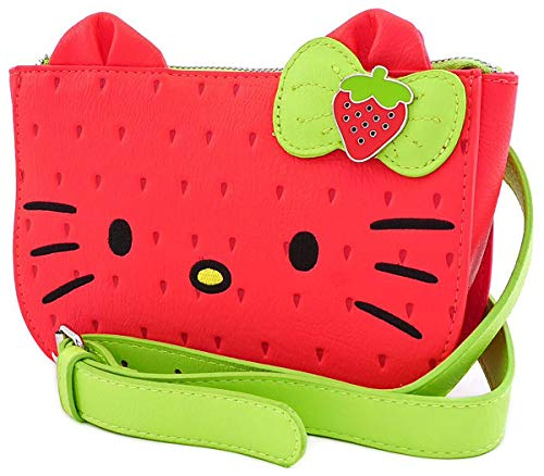 Monedero Hello Kitty Strawberry Loungefly