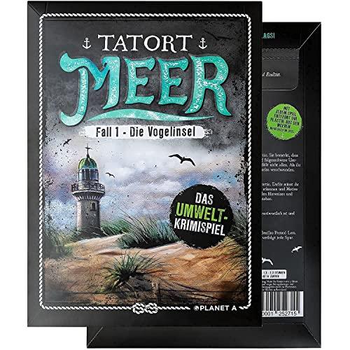 Tatort Meer   Fall 1 - Die Vogelinsel. Das interaktive Umwelt Krimispiel. Escape Room Spiel. Das Detektivspiel für einen geselligen Spieleabend. Tolle Geschenkidee