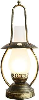 Industrial Loft Desk Lamp/Dimmable Electric Lantern with Edison Bulb/Fishing Boat Navigation Lighting Night Light, Bronze Height 46cm / 111V-240V