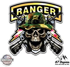 GT Graphics Army Ranger Skull Guns - Vinyl Sticker Waterproof Decal