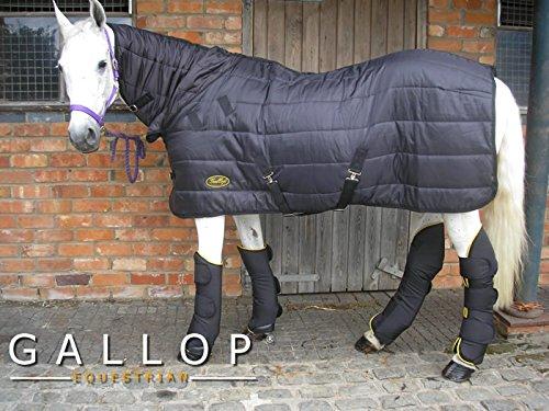 Gallop Manta de caballo y manta de capa con cuello, 150g - EU 110cm