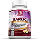 ★WHY US: We were sick of burping up garlic so we set out to create an amazing burp less garlic supplement. With garlic being a leading super food, there are hundreds of variations of garlic supplements now available in the market. However, at BRI Nut...