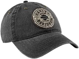 HARLEY-DAVIDSON Men's Embroidered Blank B&S Rockers Baseball Cap, Black BCC29730
