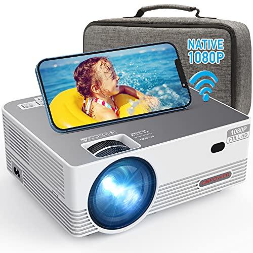 Native 1080P WiFi Projector, DBPOWER 8000L Full HD...