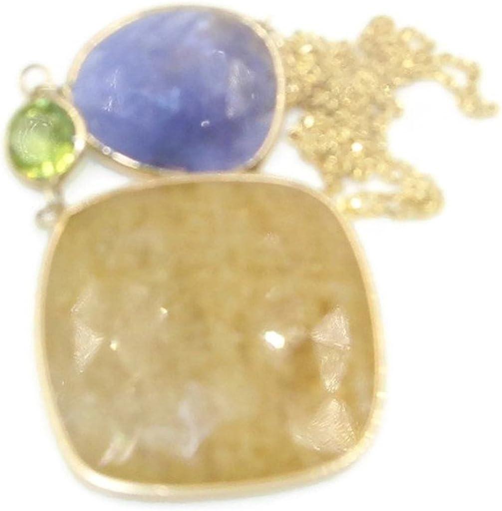 Sophia Fine Jewelry Sapphire & Peridot 20